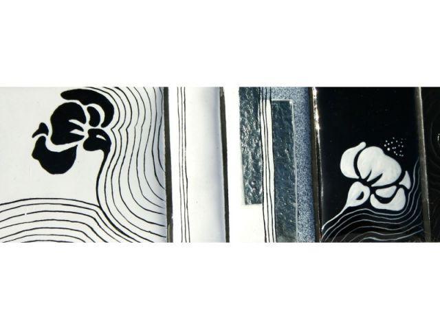Frise décorative - Muriel Carcagno - émail