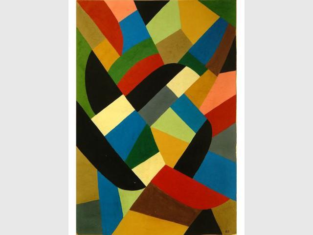 Composition abstraite, O. Freundlich