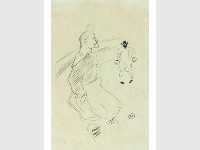 Dessin Toulouse Lautrec