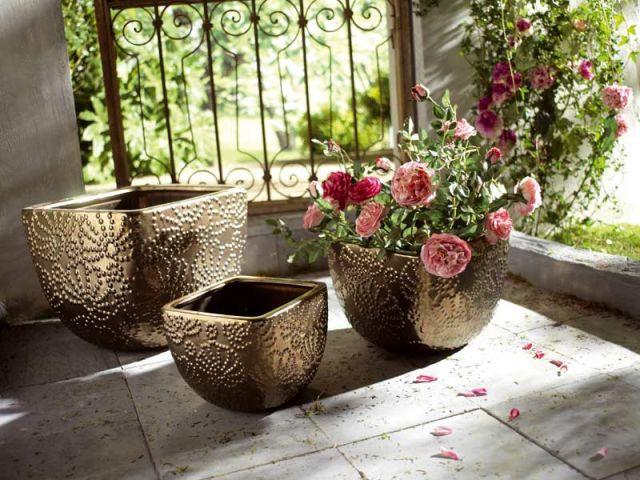 Pots carrés Casbah