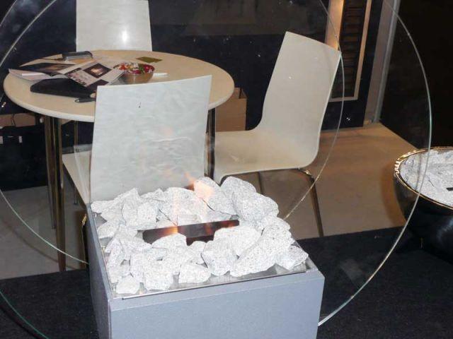 cheminée éthanol  alfra