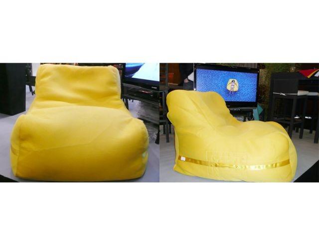 fauteuil jaune Slack amphibie