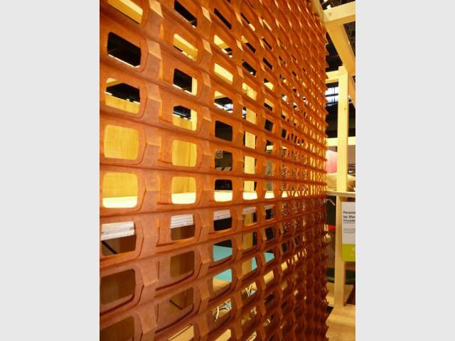 Cuisine - Cloison modulable - salon Rénover - Espace matériaux atypiques