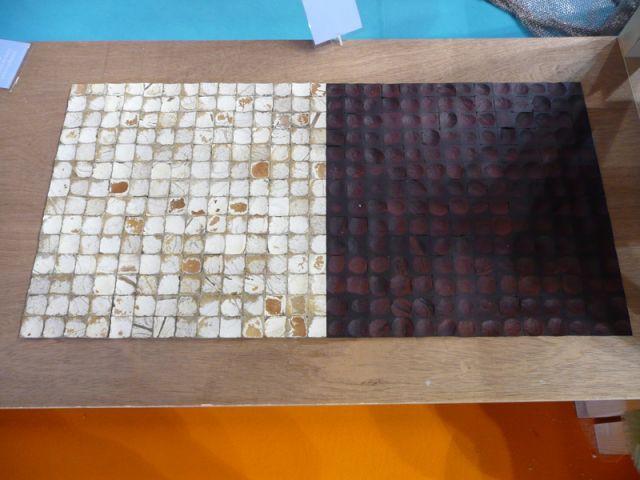 Salle de bain - Dalle - salon Rénover - matériaux atypiques