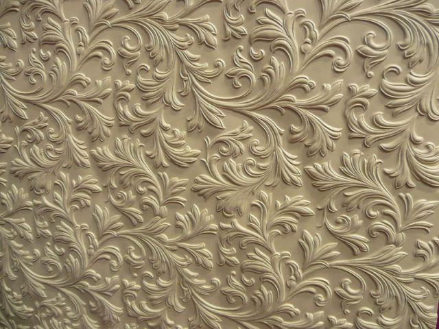 Salon - Panneau relief - salon Rénover - matériaux atypiques