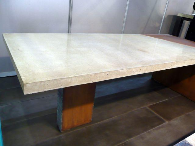 Table - salon Rénover - Mon beau béton