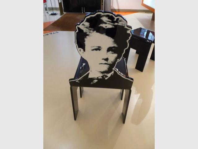 Arrière d'une chaise