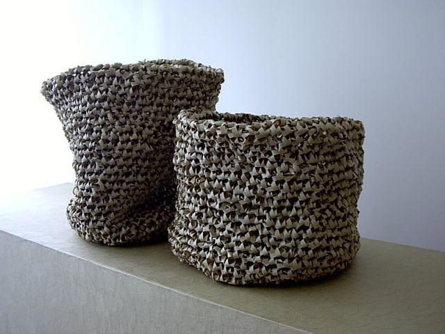 Vases en crochet de Pierre Pozzi - Arty Dandy - Le Bon Marché