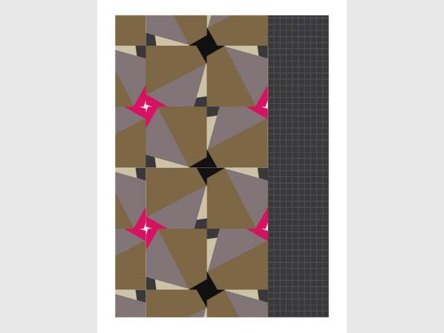 Couleurs énergie graphique - Céramique mosaïque