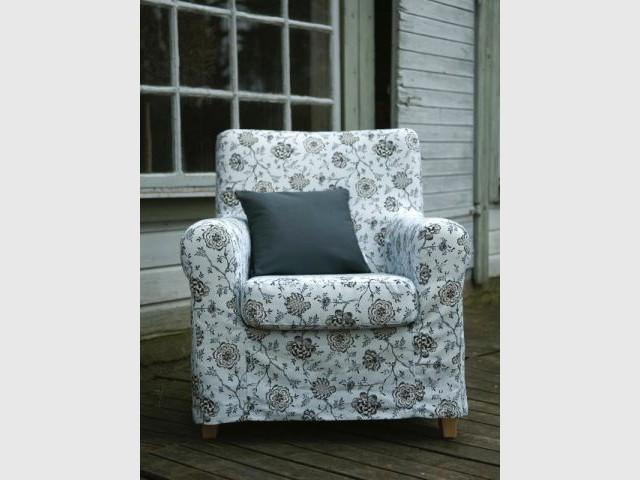 Housse fauteuil Country Romance - housses - canapés - Bemz