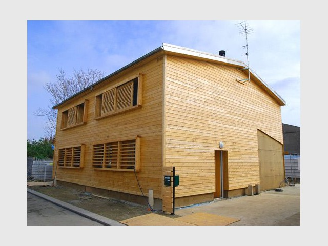 Maison écologique en bois