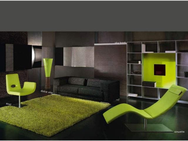 Univers vert pomme - Chaise Axel