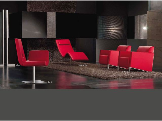 Univers rouge - Chaise Axel