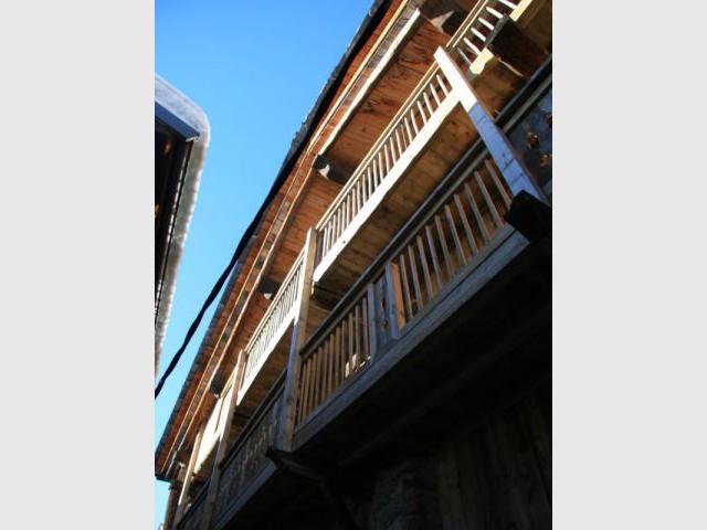 Façade côté rue - Chalet -  montagne - Créa Design