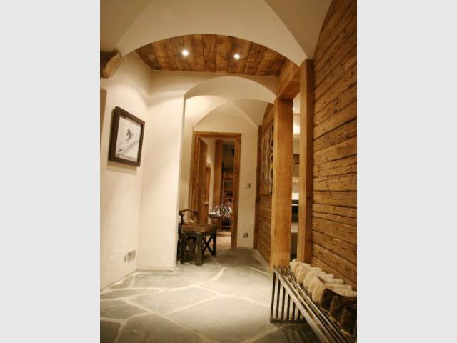 Couloir - Chalet -  montagne - Créa Design