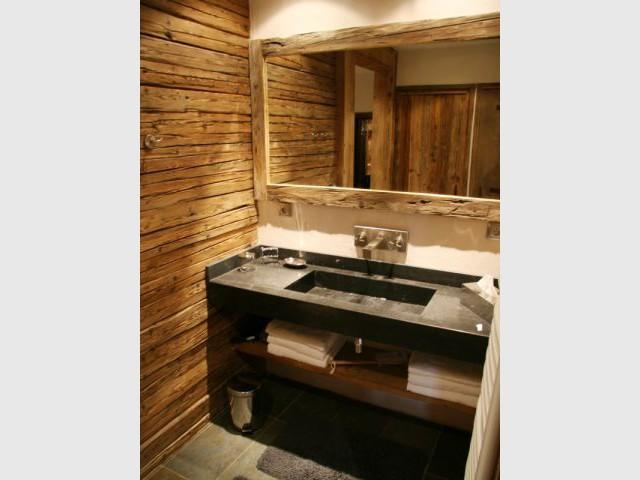 Salle de bain - Chalet -  montagne - Créa Design