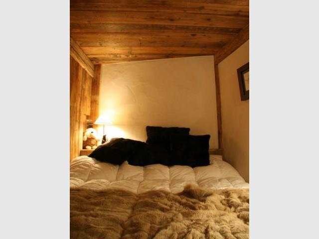 Chambre - Chalet -  montagne - Créa Design