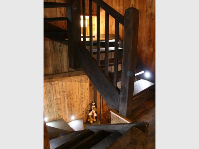 Escalier - Chalet -  montagne - Créa Design