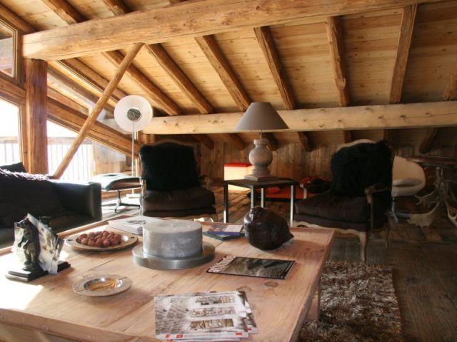 Coin salon - Chalet -  montagne - Créa Design