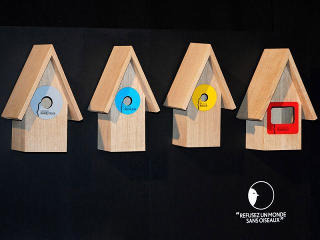 Nichoirs à oiseaux - Concours Design-Bois