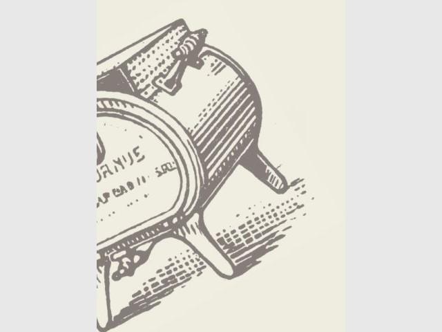 Affiche publicitaire - La Cornue - Saga - cuisines - cuisinistes
