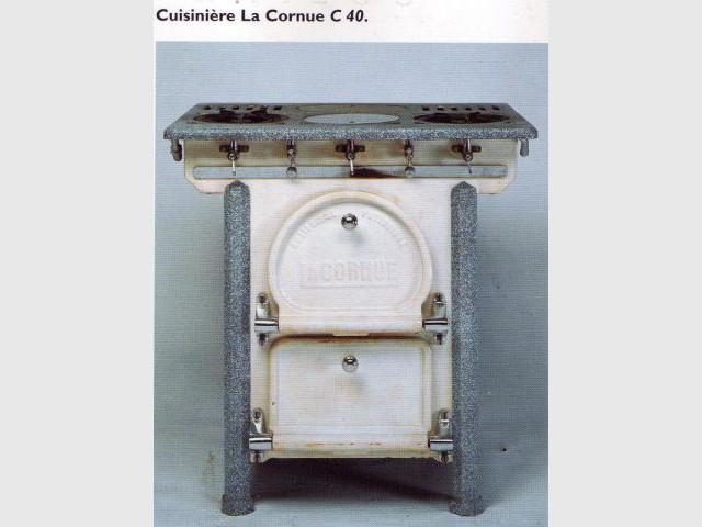 Cuisinière C 40 - 1930 - La Cornue - Saga - cuisines - cuisinistes