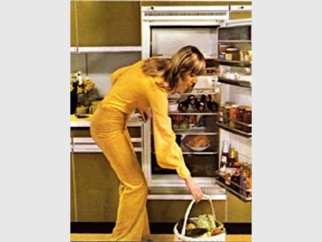 Années 70 - Frigidaire frigo Bosch déco travaux