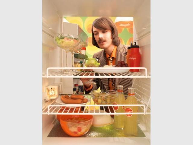 Et de l'intérieur - Frigidaire frigo Bosch déco travaux