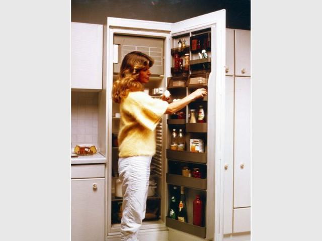 Années 80 - Frigidaire frigo Bosch déco travaux