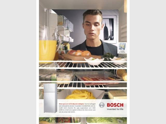 Et de l'intérieur... - Frigidaire frigo Bosch déco travaux