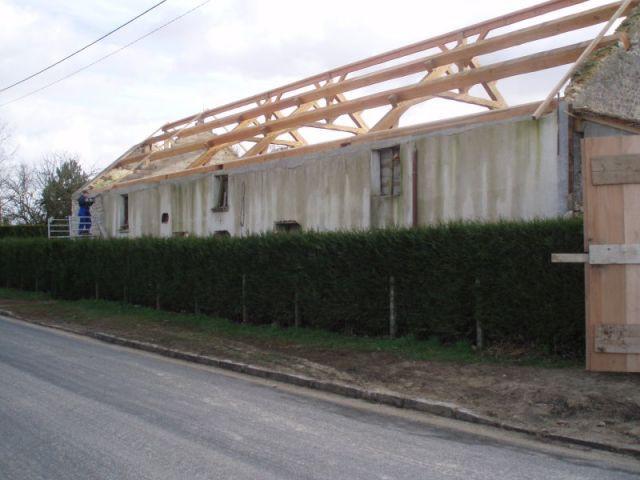 Façade côté rue - reportage piscine intérieure - Christelle Brosset - Provins