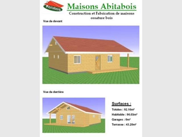 Vues - Abitabois maison bois immobilier acheter