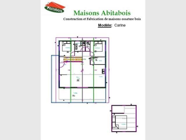 Plans - Abitabois maison bois immobilier acheter