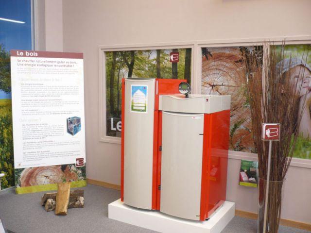 Espace bois - energies renouvelables show-room environnement