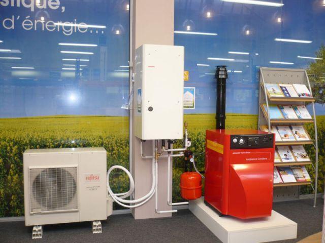 Espace fioul - energies renouvelables show-room environnement
