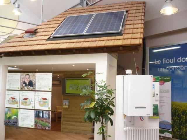 Photovoltaique - energies renouvelables show-room environnement