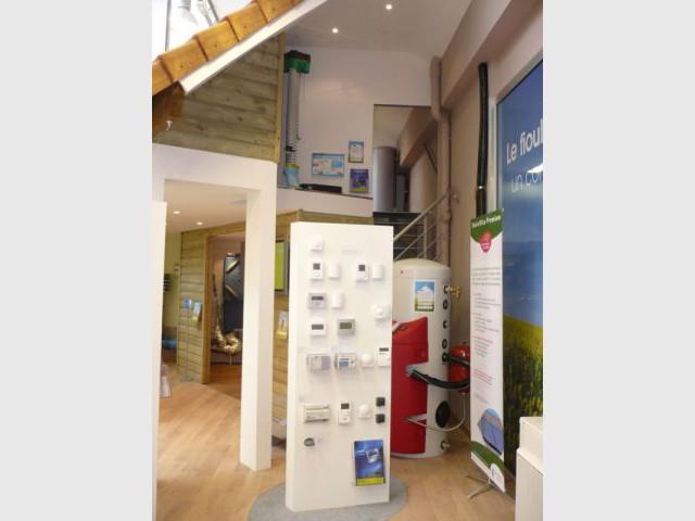 Régulation - energies renouvelables show-room environnement