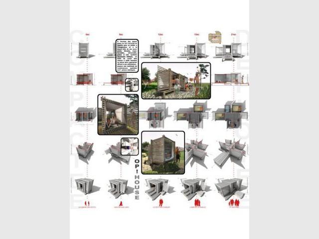 Op! House - Concours Minimaousse - architecture - 3e édition