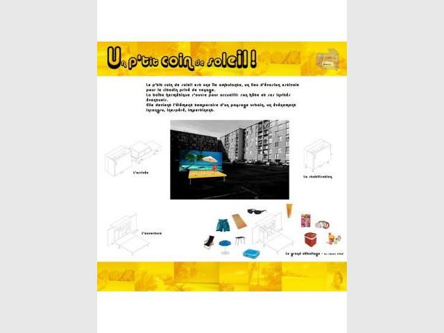 Un petit coin de soleil - Concours Minimaousse - architecture - 3e édition
