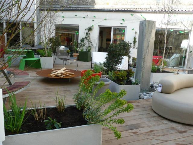 Coin terrasse - Sabz - showroom