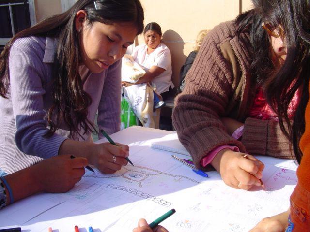 Irique, Quinta Moroy Avec les habitants