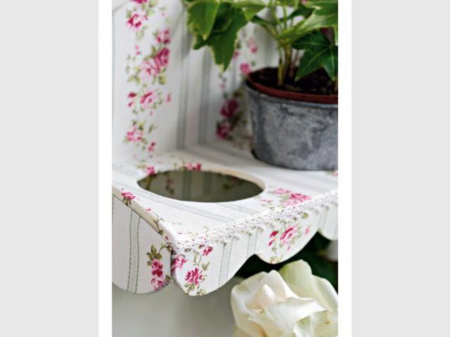 Gainage du dessus et des côtés - Porte fleurs