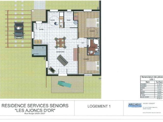 Maison - maison de retraite Arcady