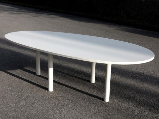 Table - Exposition Concrete - Martin Szekely - Galerie Kreo