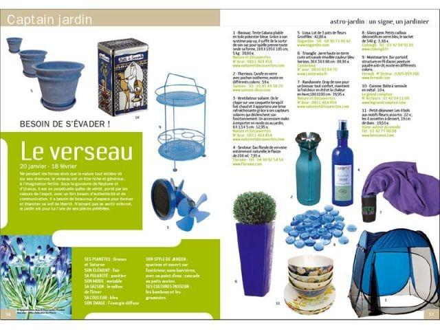 Astro-jardin Verseau - Guide de l'art de vivre au jardin