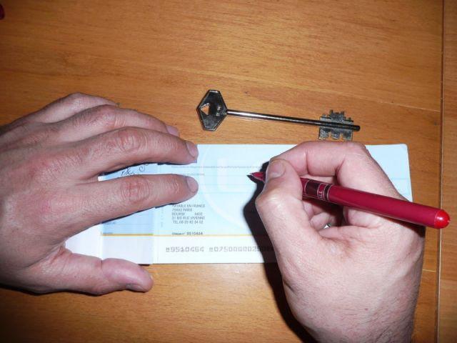 caution location chèque dépôt de garantie