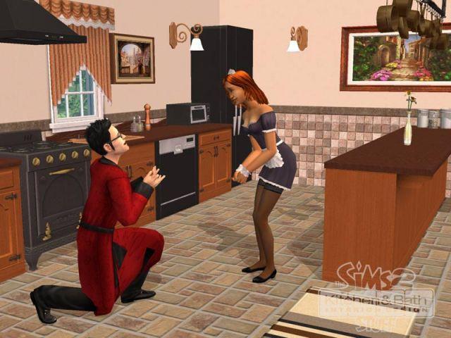 Un modèle de cuisine - Les Sims 2