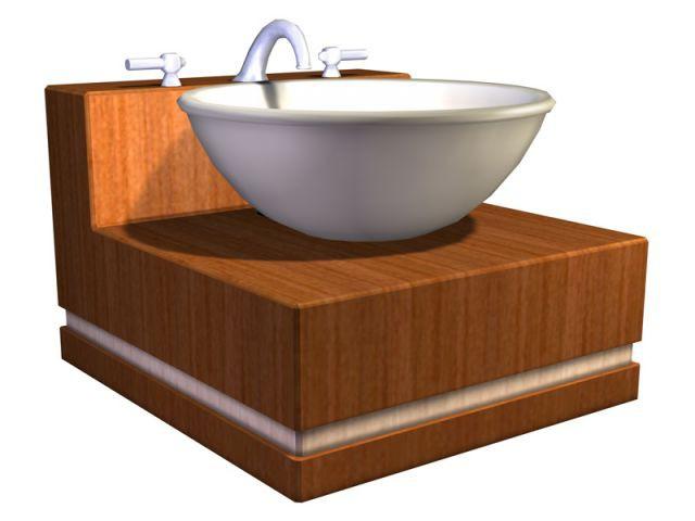 Un modèle de vasque - Les Sims 2