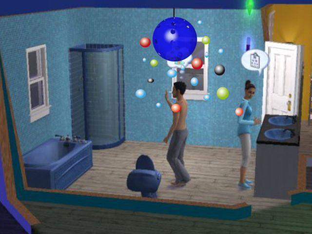 """La """"Disco bulles"""" de Fanny Adam - Les Sims 2"""