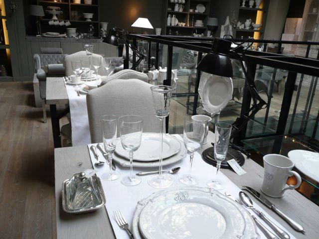 Les tables façon restaurant - Blan d'Ivoire